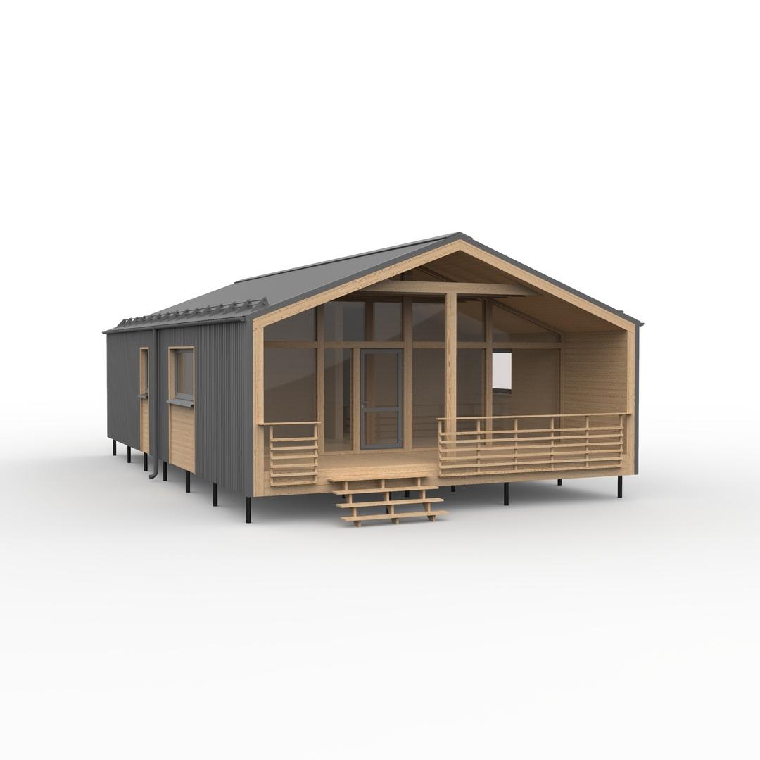 Доступен для заказа конструктор большого дома FINHA B90